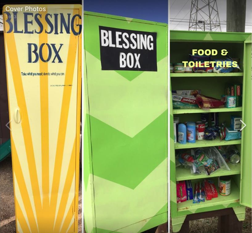 Blessing Box at Jay's Family Restaurant Photo 1