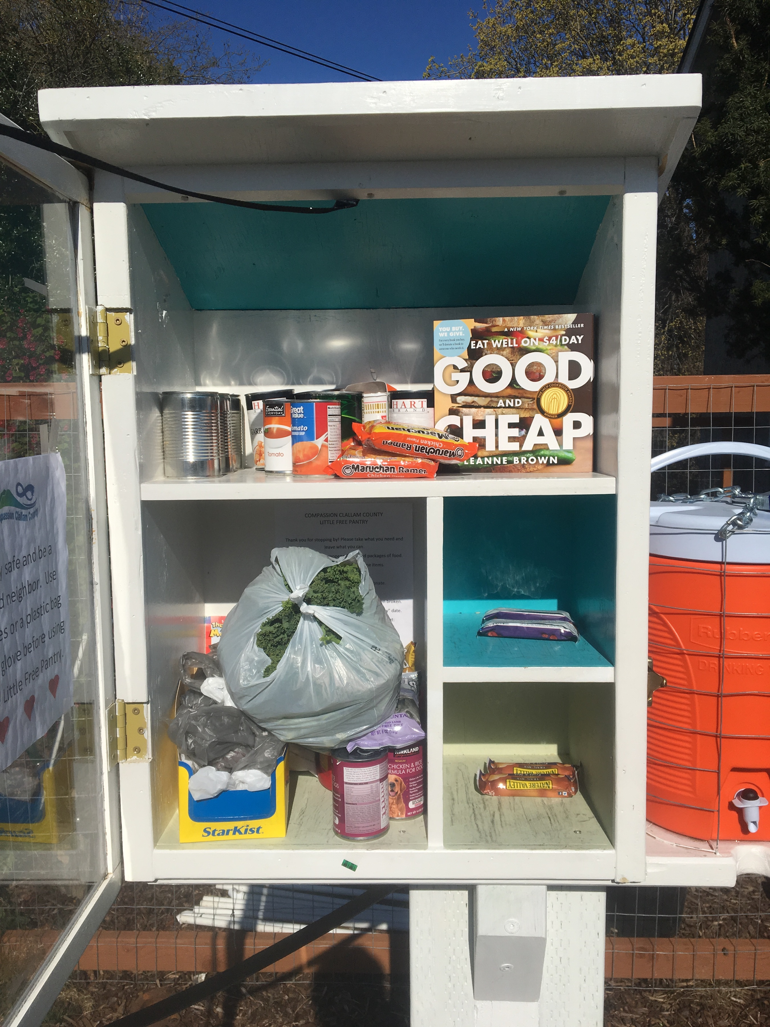 Compassion Clallam Little Free Pantry Photo 1