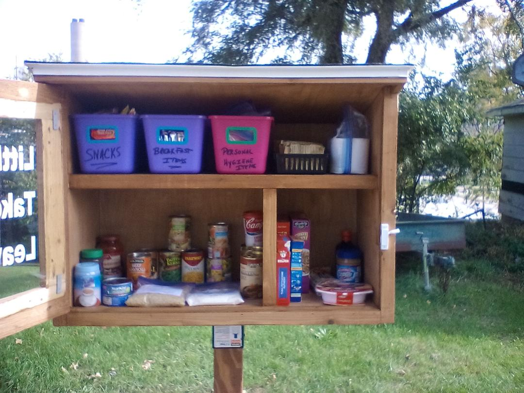 River Cities Little Free Pantry Photo 2