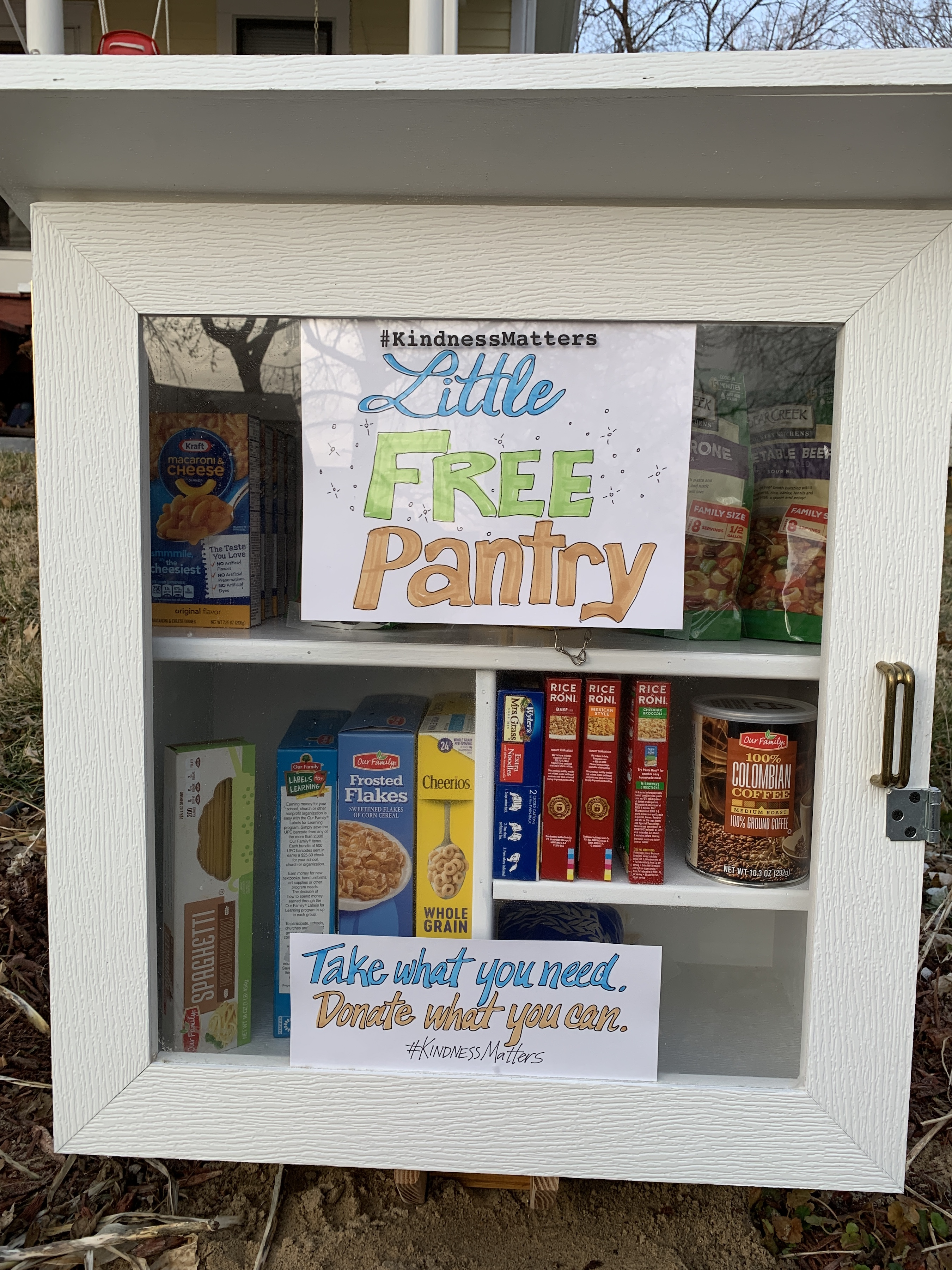 KindnessMatters Little Free Pantry Photo 1