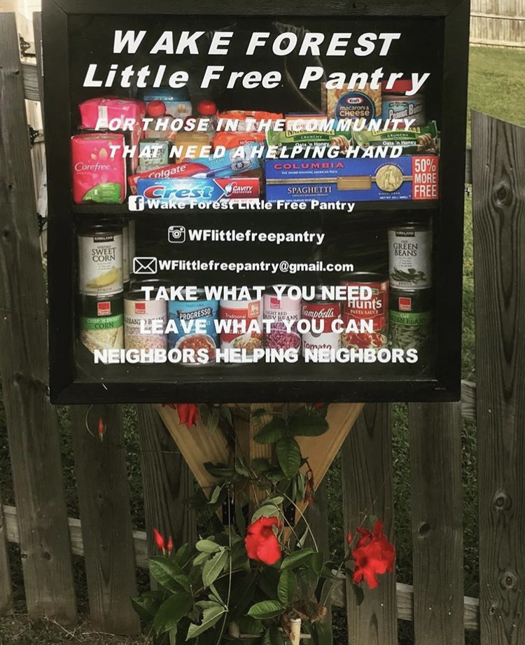 Wake Forest Little Free Pantry Photo 1