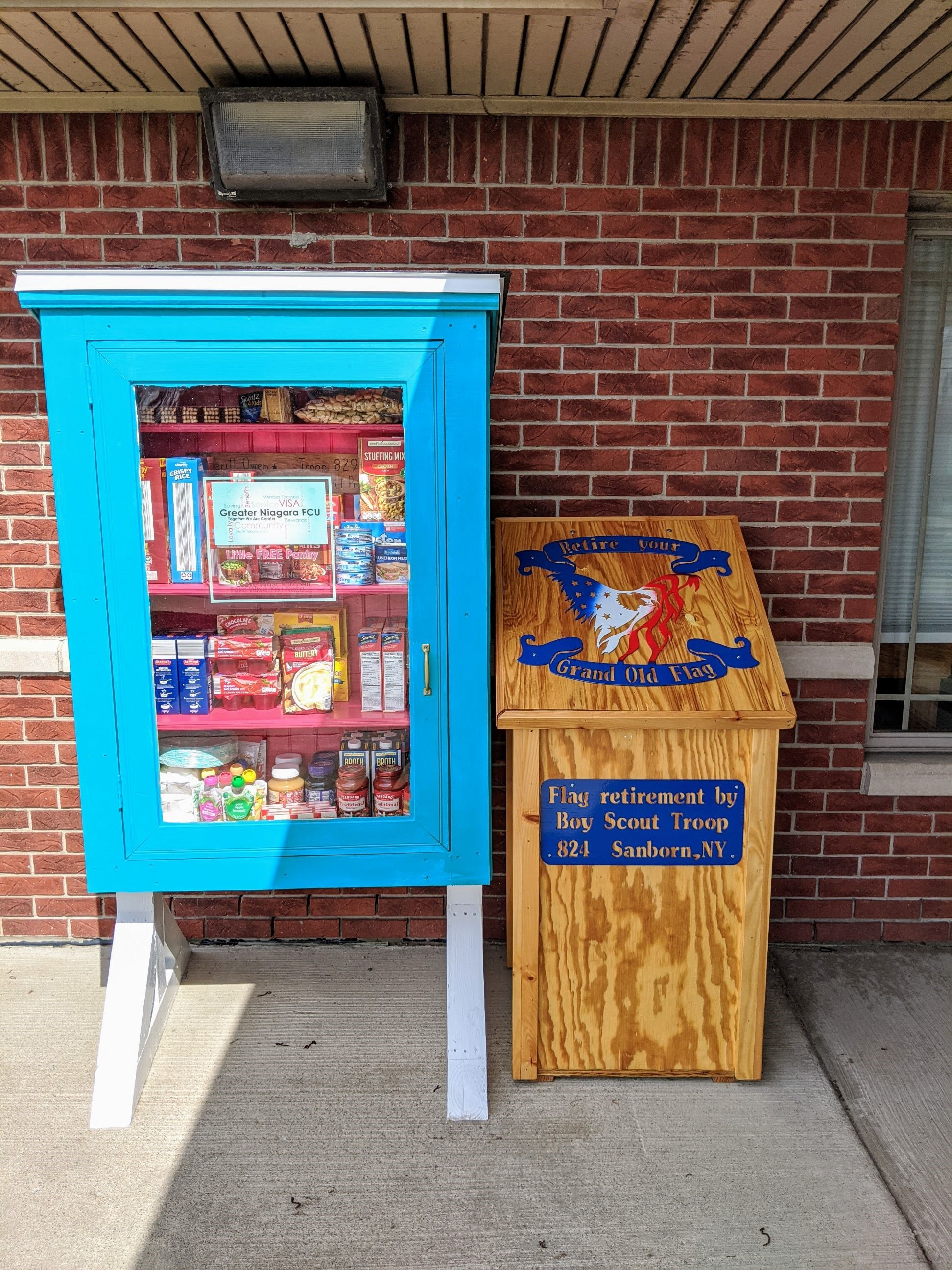 Greater Niagara FCU Little Free Pantry Photo 1