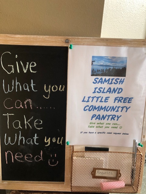 Samish Island Little Free Pantry Photo 2