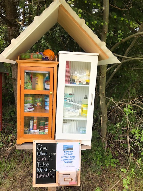 Samish Island Little Free Pantry Photo 1
