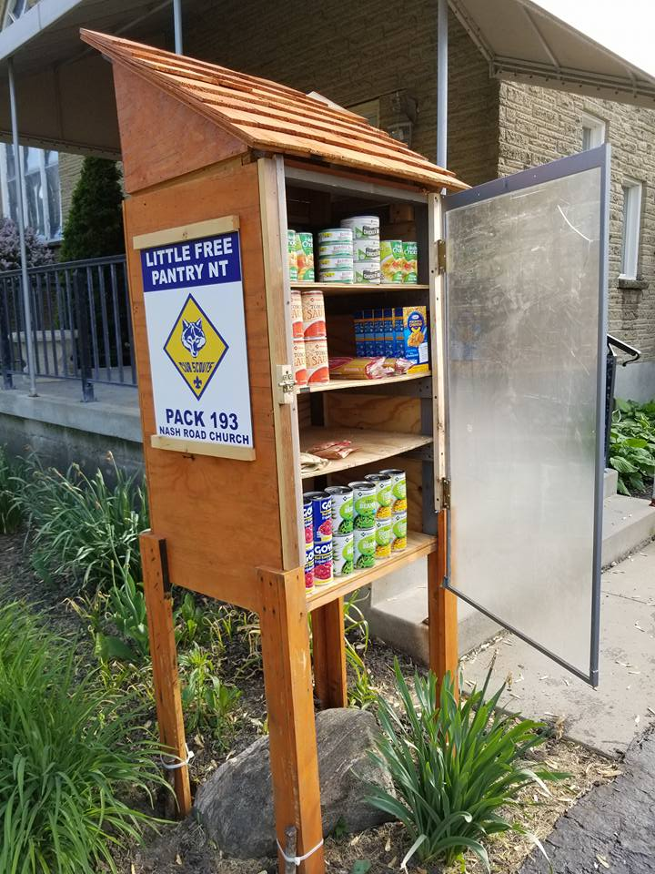 The Little Free Pantry: North Tonawanda - Nash Road Church Photo 1