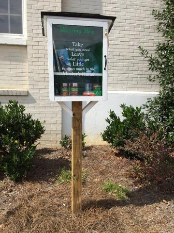 Girl Scout Troop 319 Blessing Box - York Public Library Photo 1