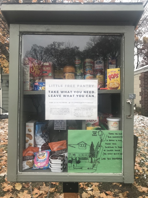 Little Free Pantry on Planavon Photo 1