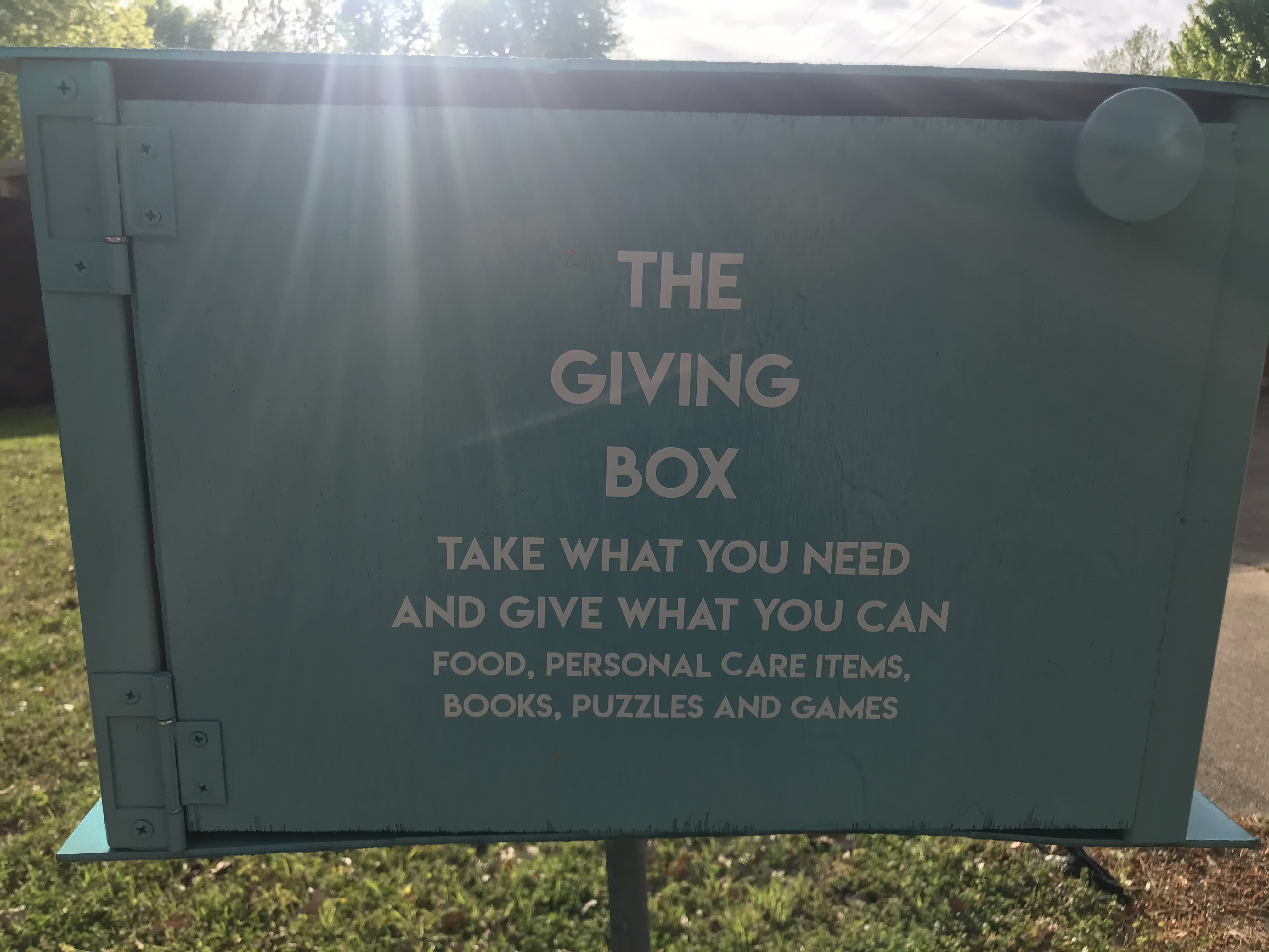 Our Giving Box Photo 1