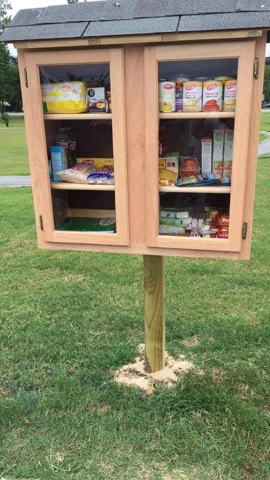 Jacksonville Arkansas Little Free Pantry Photo 1