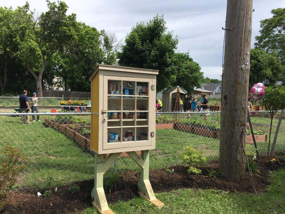 The Little Free Pantry: North Tonawanda - 255 Sommer St./Imagine Community Gardens Photo 2