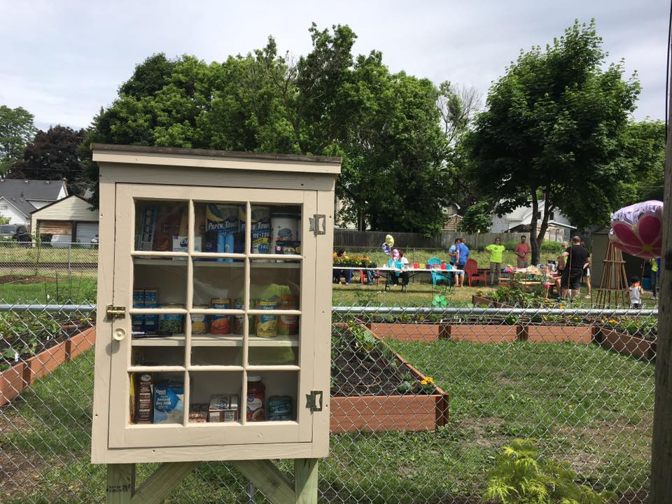 The Little Free Pantry: North Tonawanda - 255 Sommer St./Imagine Community Gardens Photo 1