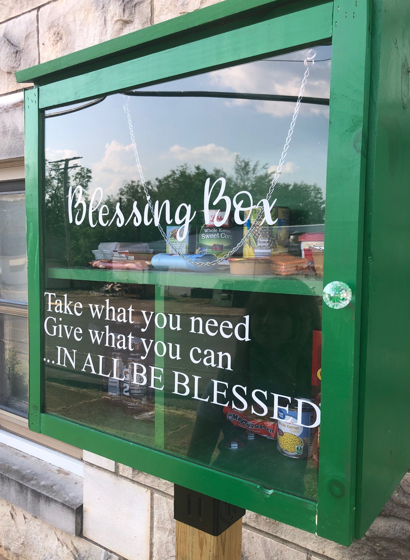 Central Avenue UMC Blessing Box Photo 1