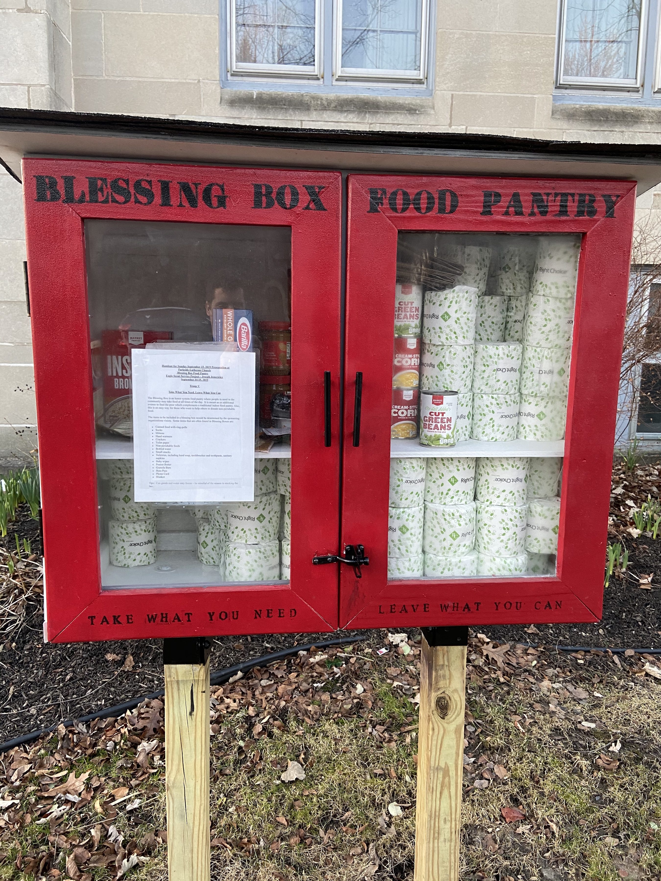 Parkside Lutheran Blessing Box Photo 1