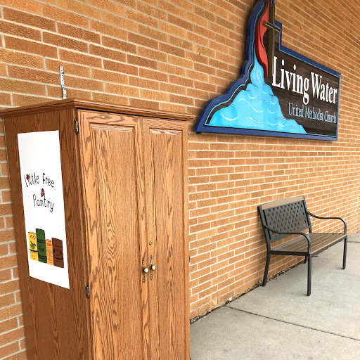 Living Water UMC Little Free Pantry Photo 1