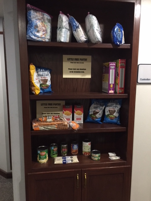 Little Free Pantry-Irvin L. Young Memorial Library Photo 1