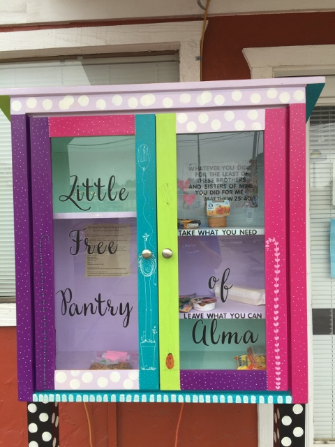 Little Free Pantry of Alma Photo 1