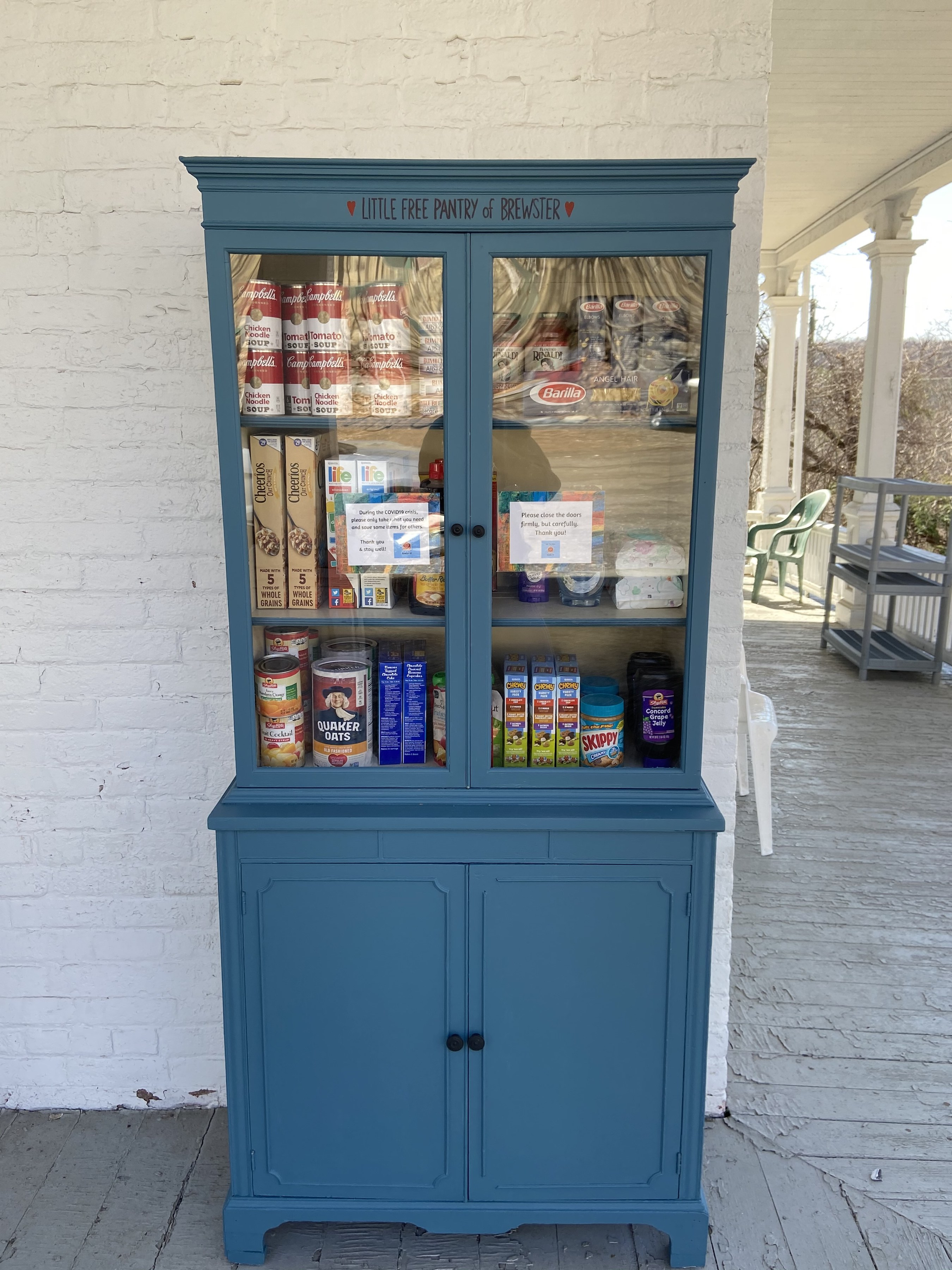 Little Free Pantry Brewster NY Photo 1