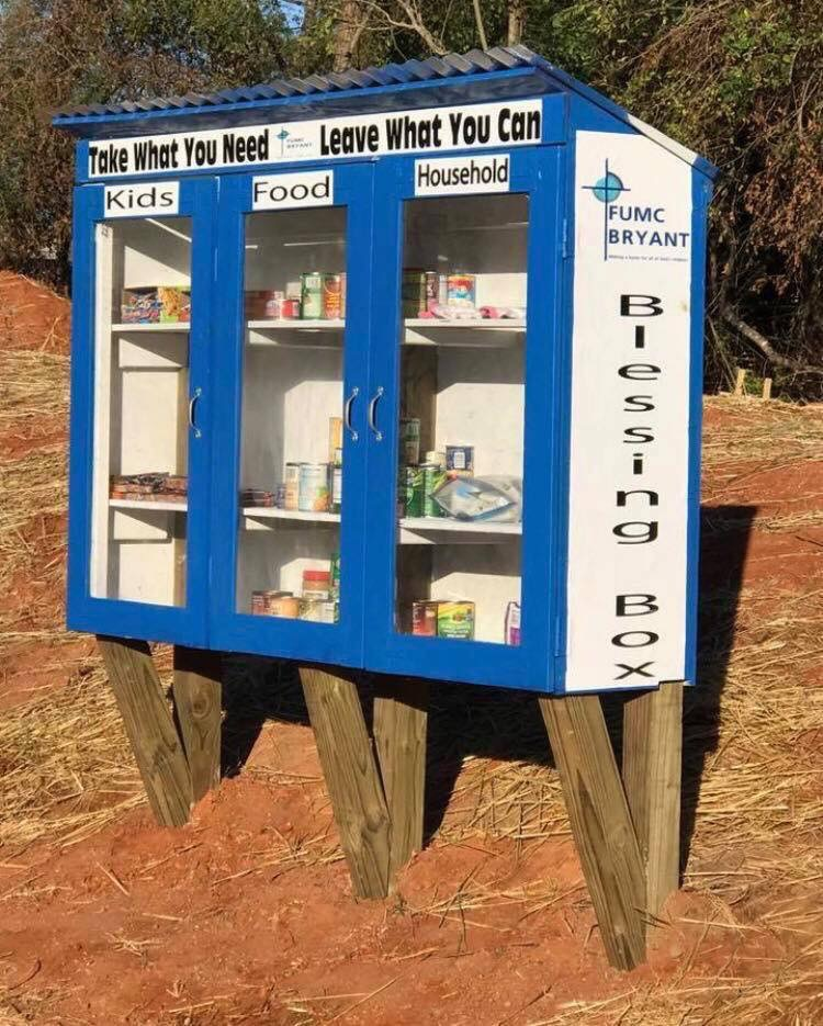 FUMC Bryant Blessing Box Photo 1