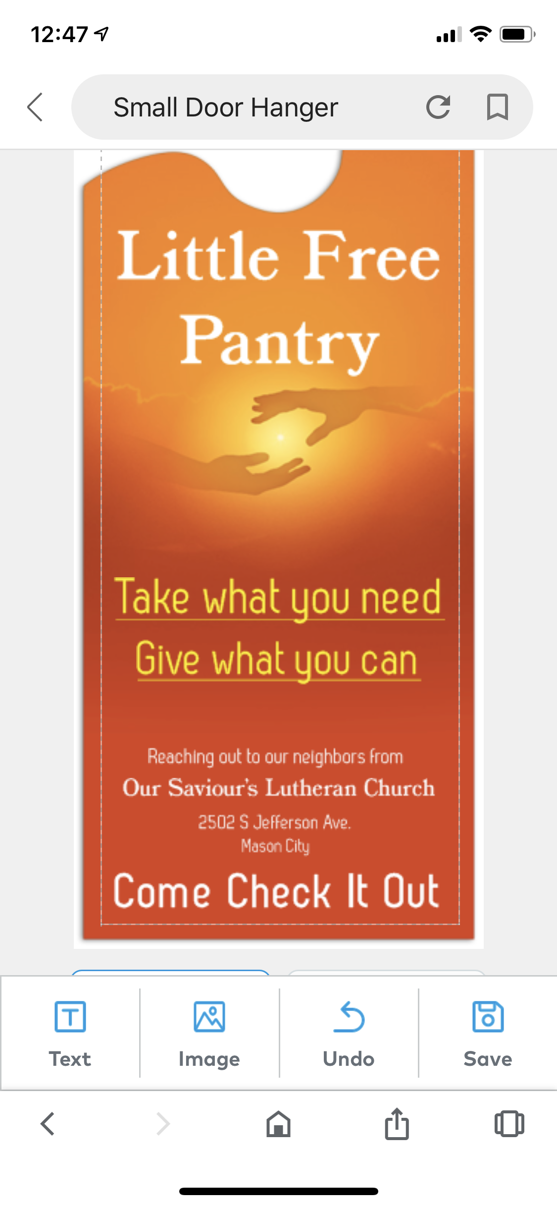 Little Free Pantry - Our Saviour's Lutheran Church Photo 1