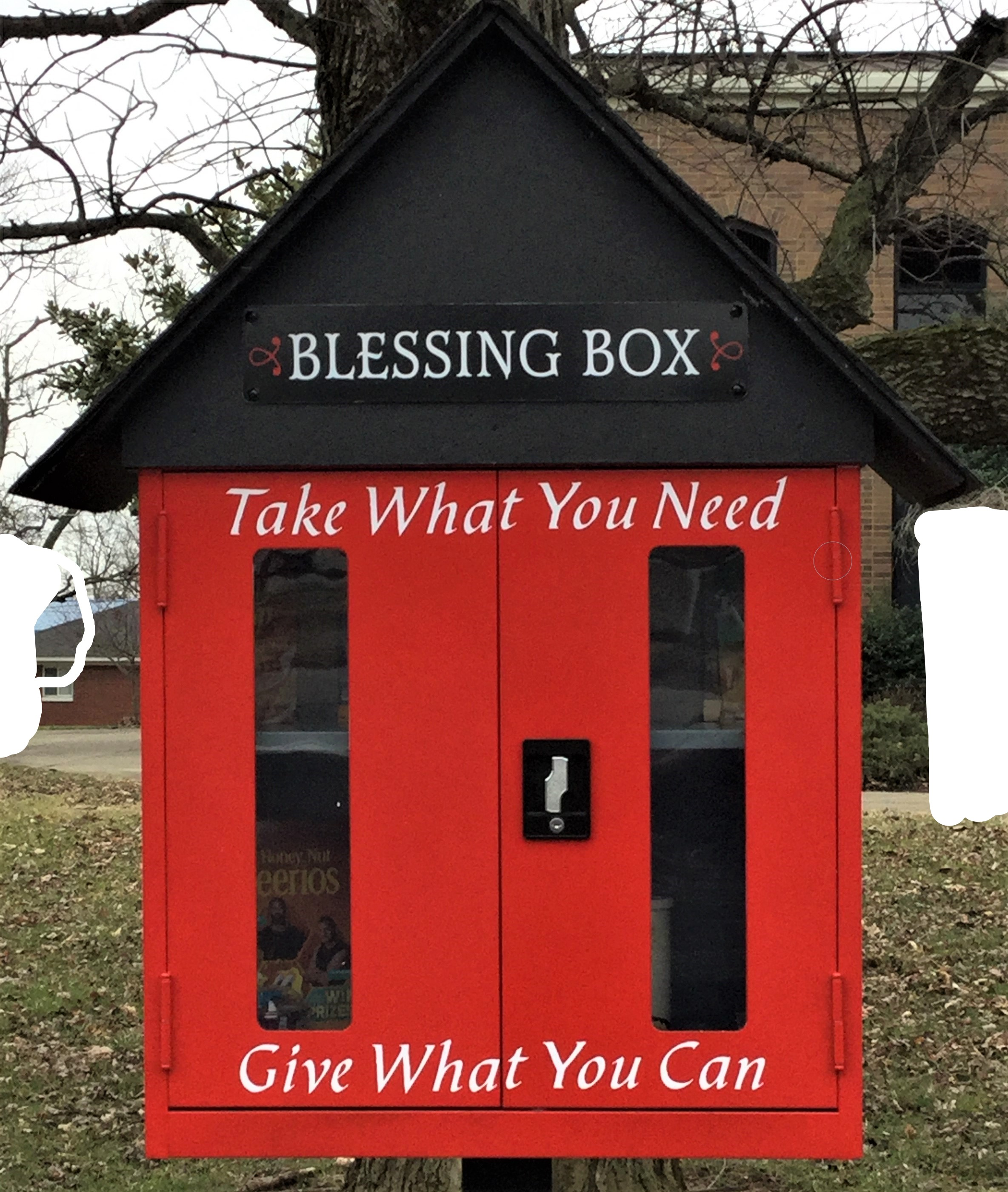 Sacred Heart Blessing Box Photo 1
