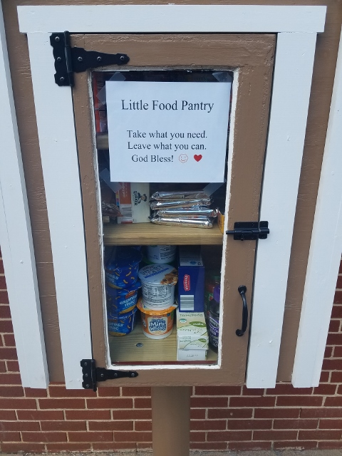 The Darlene Martz Memorial Free Little Food Pantry at Trinity Lutheran Church in Steelton Photo 2