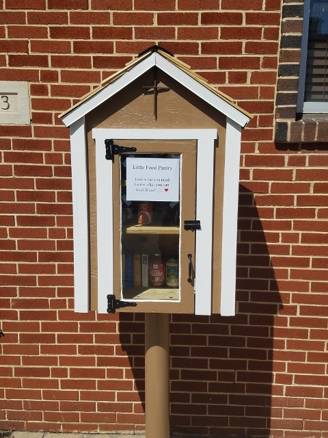 The Darlene Martz Memorial Free Little Food Pantry at Trinity Lutheran Church in Steelton Photo 1