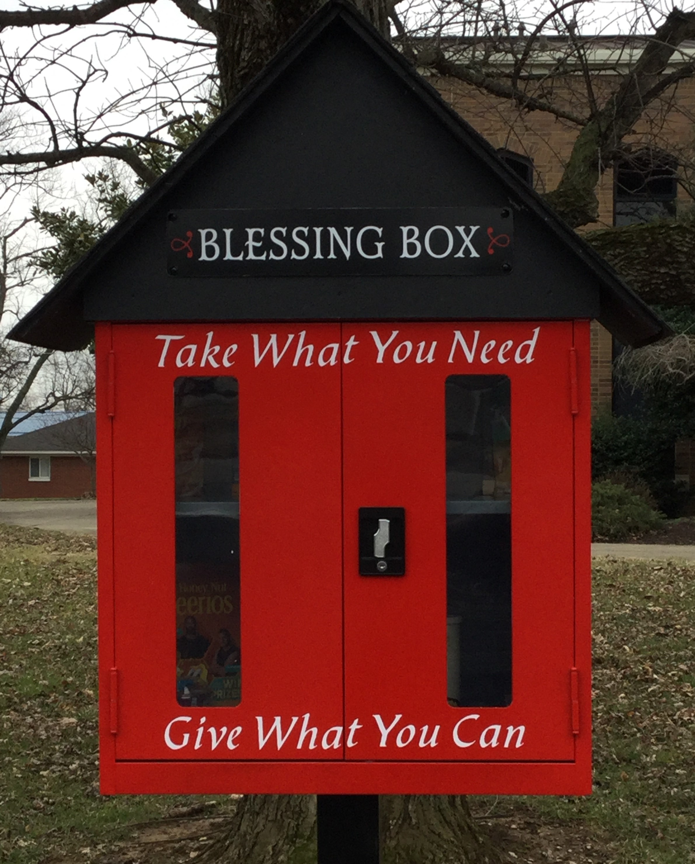 Sacred Heart Church Blessing Box Photo 1
