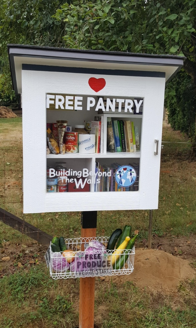 Neighborhood Free Pantry & Library Photo 1