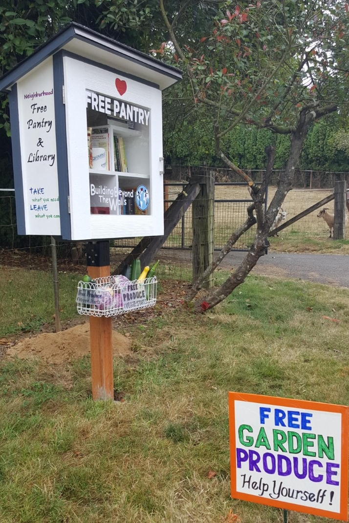 Neighborhood Free Pantry & Library Photo 2