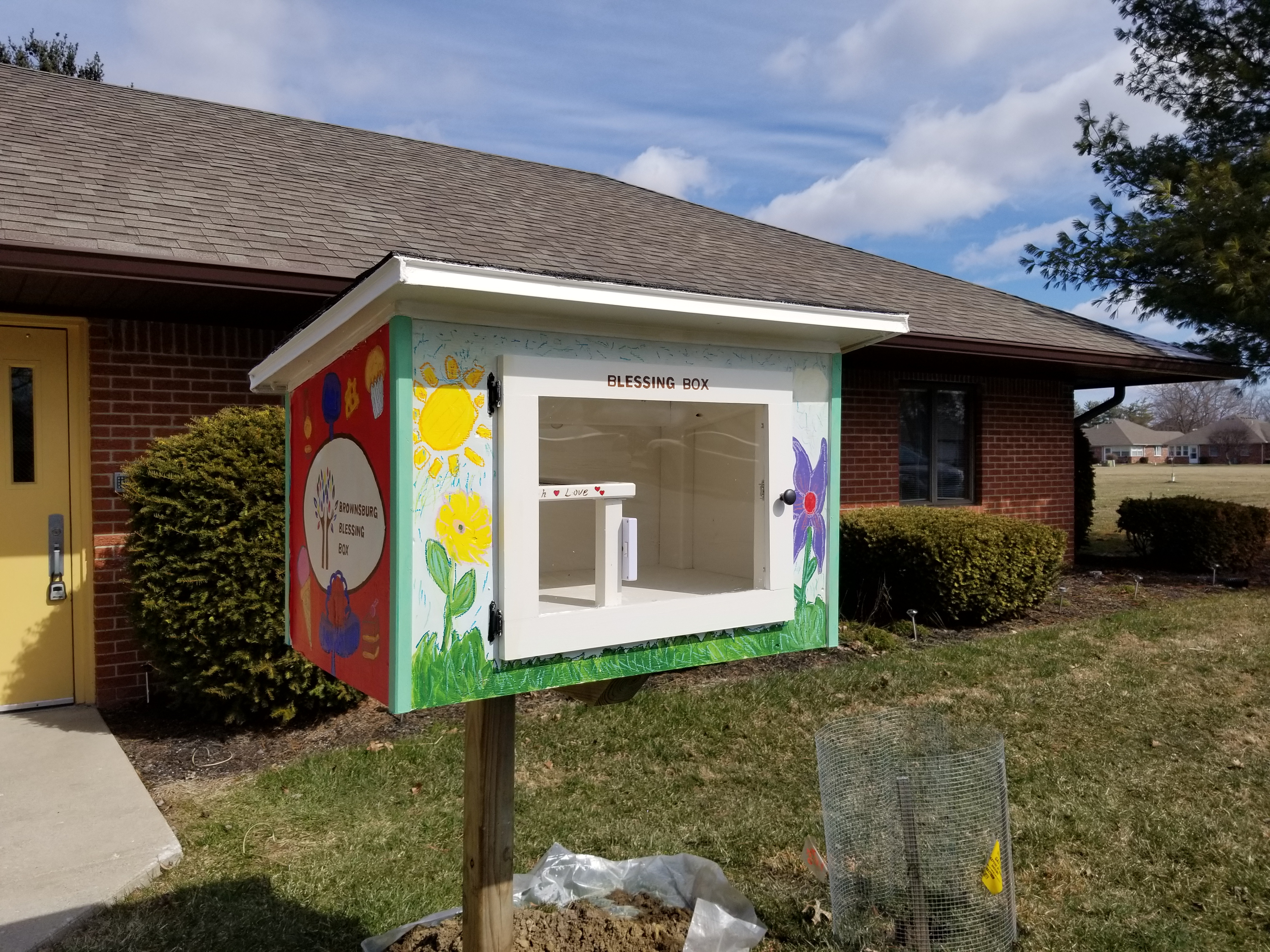Brownsburg Blessing Box At Meaningful Day Services Photo 1