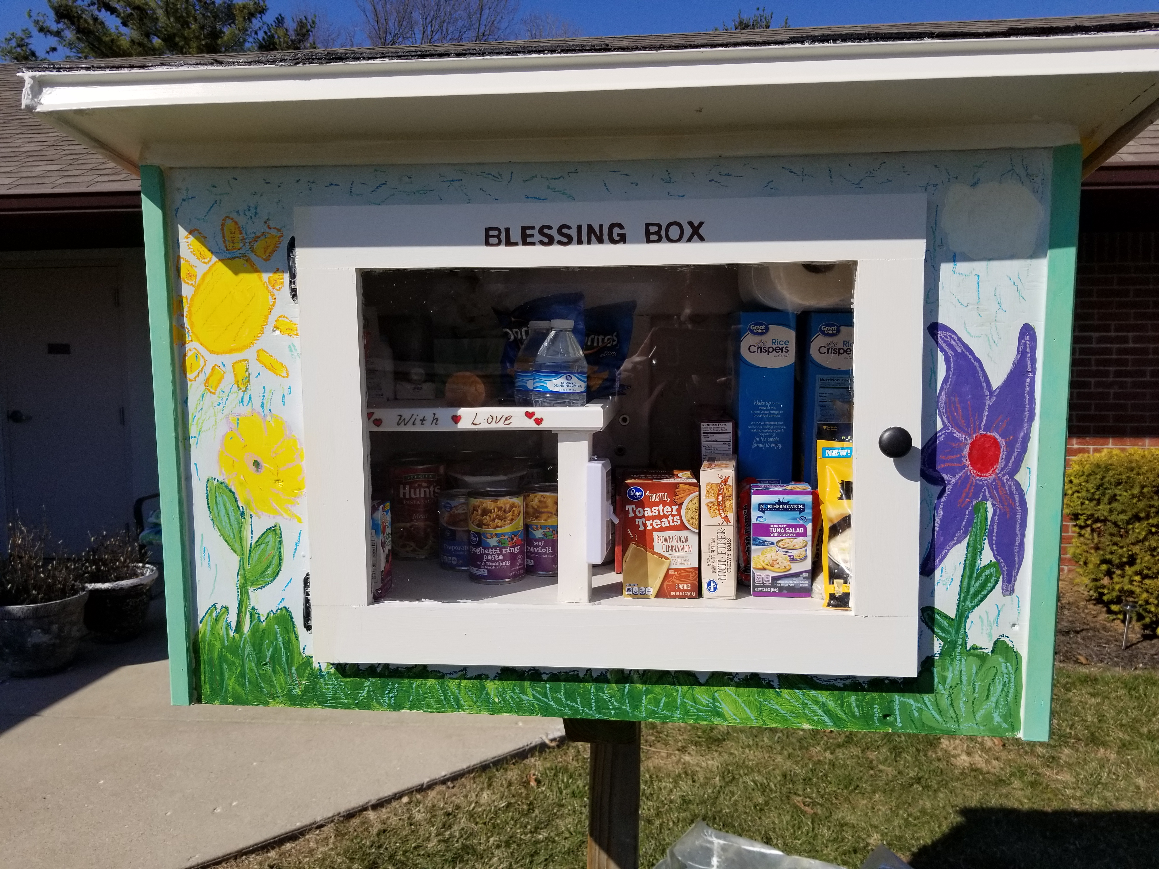 Brownsburg Blessing Box At Meaningful Day Services Photo 2