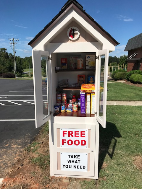 Denver UMC Little Free Pantry Photo 1