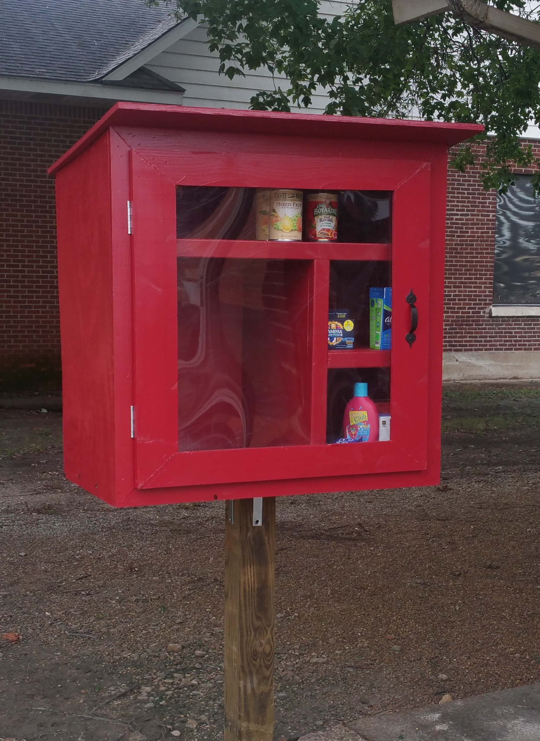 Weiner Public Library Little Free Pantry Photo 1