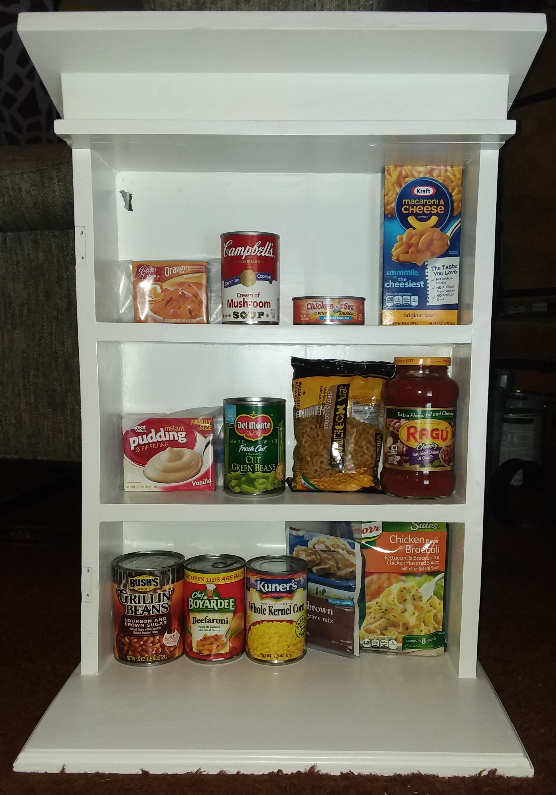 Vicki's Little free Pantry @ Vicki's Little free Library complex. Photo 2