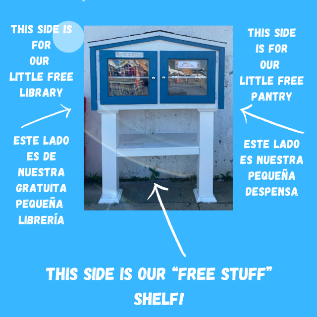 Eagle Hill's Little Free Library/Pantry Photo 1