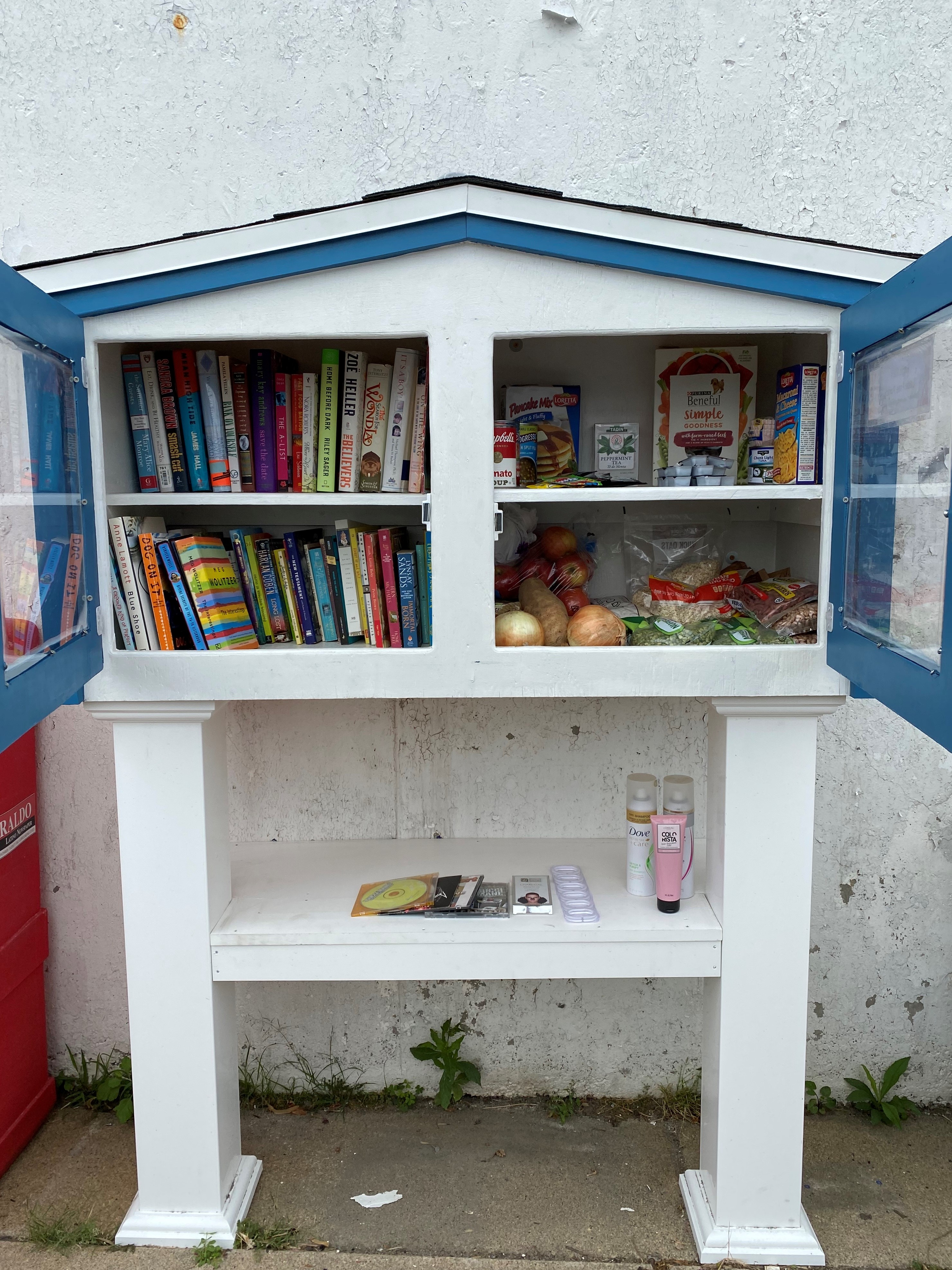 Eagle Hill's Little Free Library/Pantry Photo 2