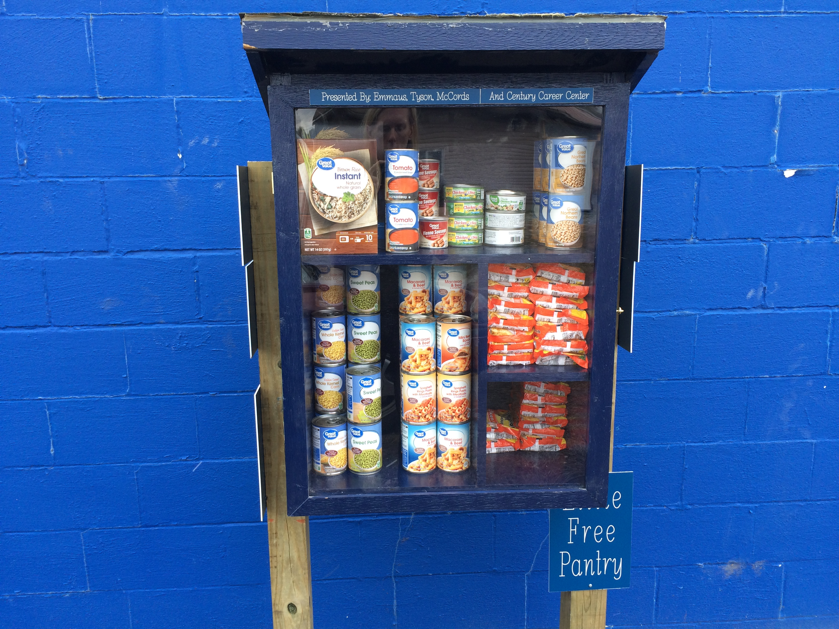 Emmaus' Little Free Pantry Photo 1