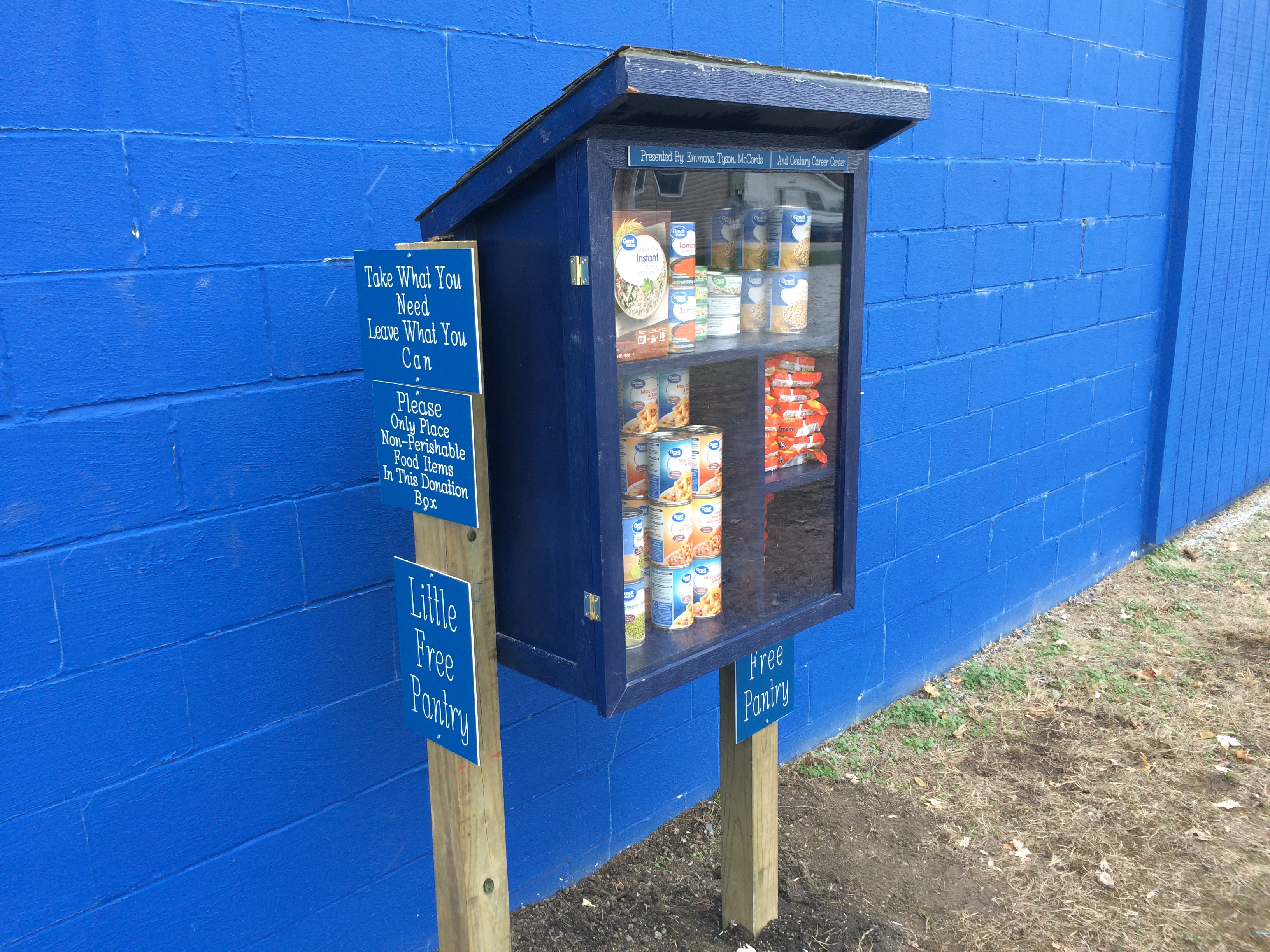 Emmaus' Little Free Pantry Photo 2