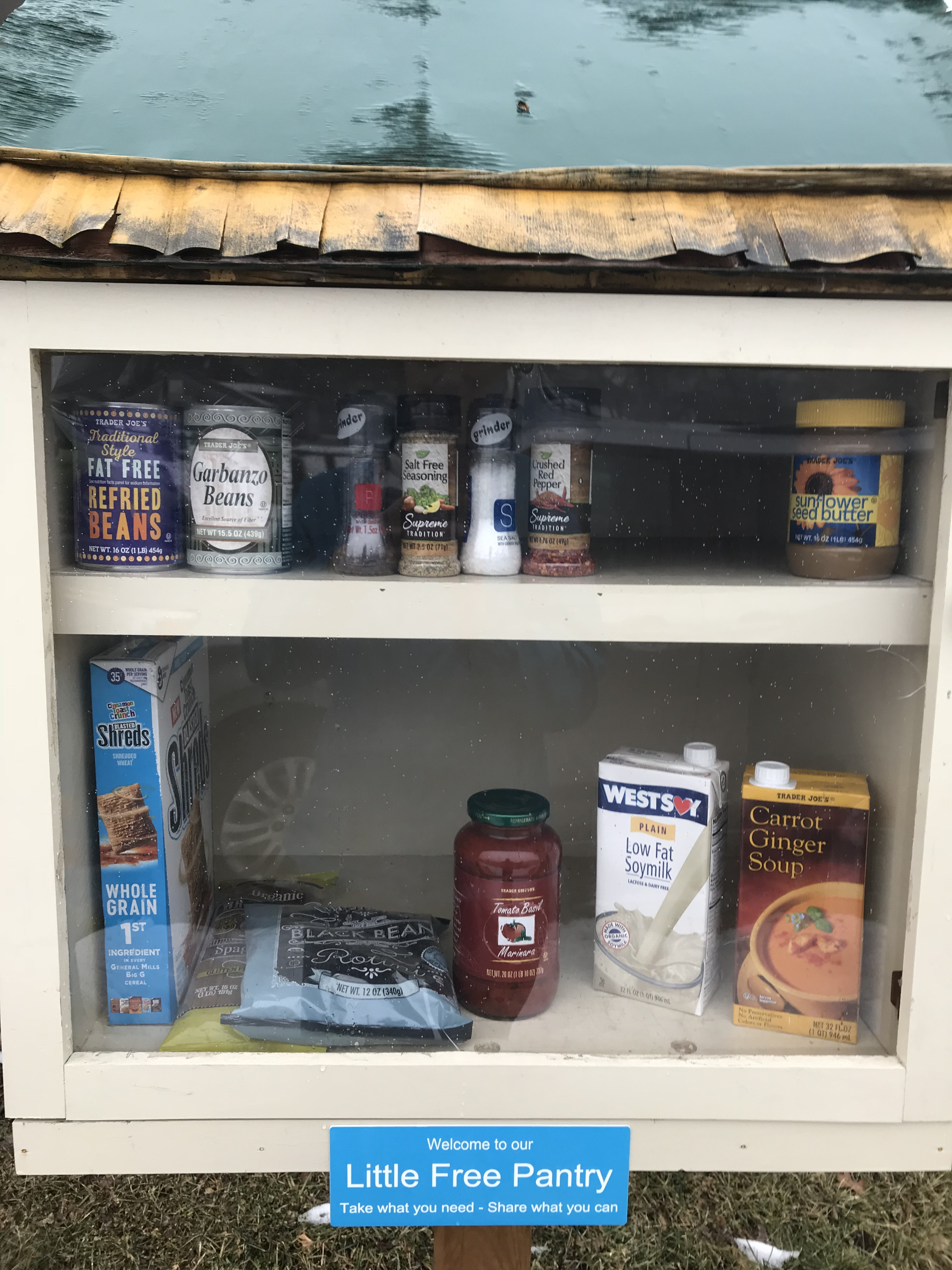 Little Free Pantry - St. James Evangelical Lutheran Church Photo 1