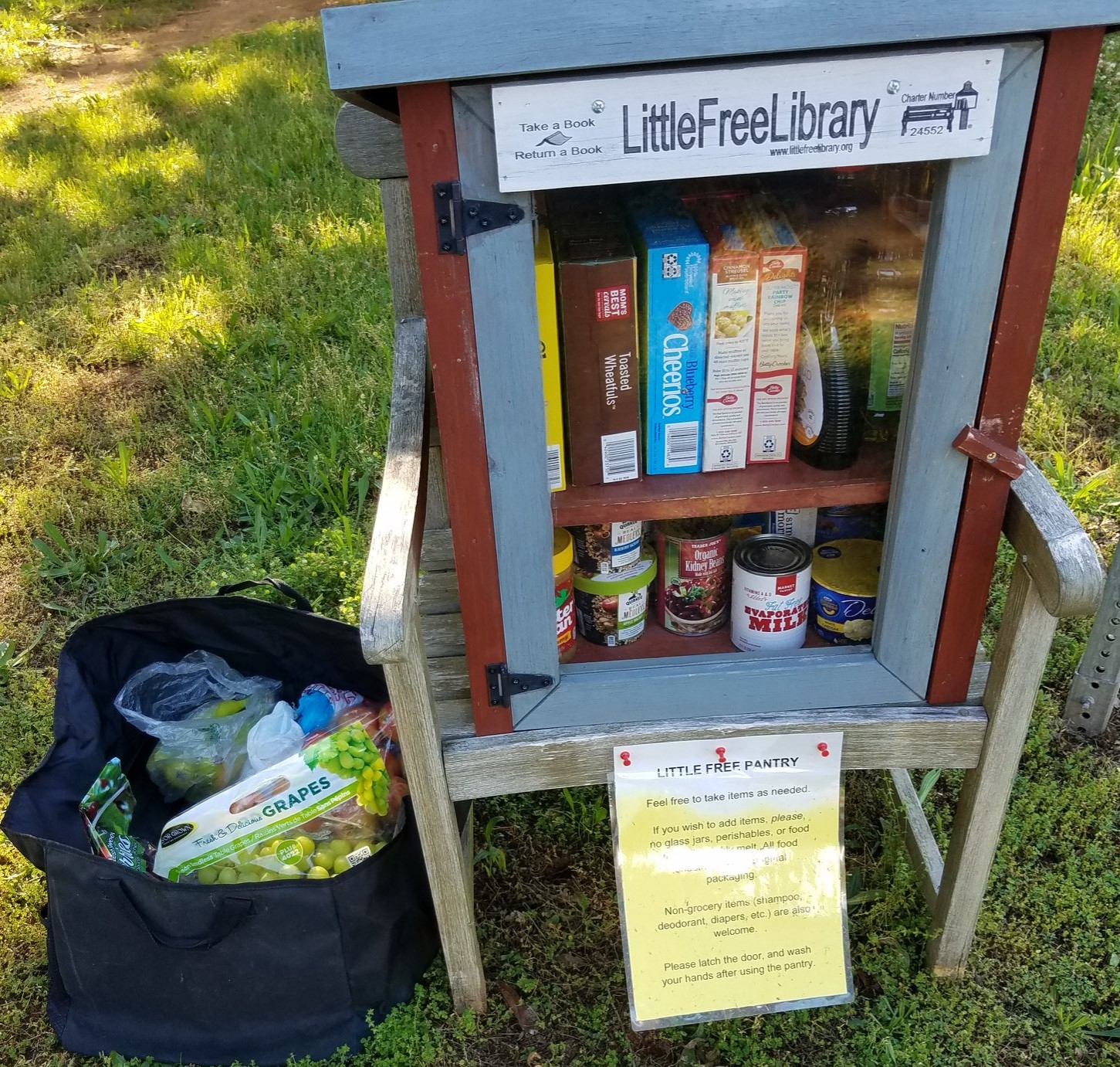 Briarwood Little Free Pantry Photo 1