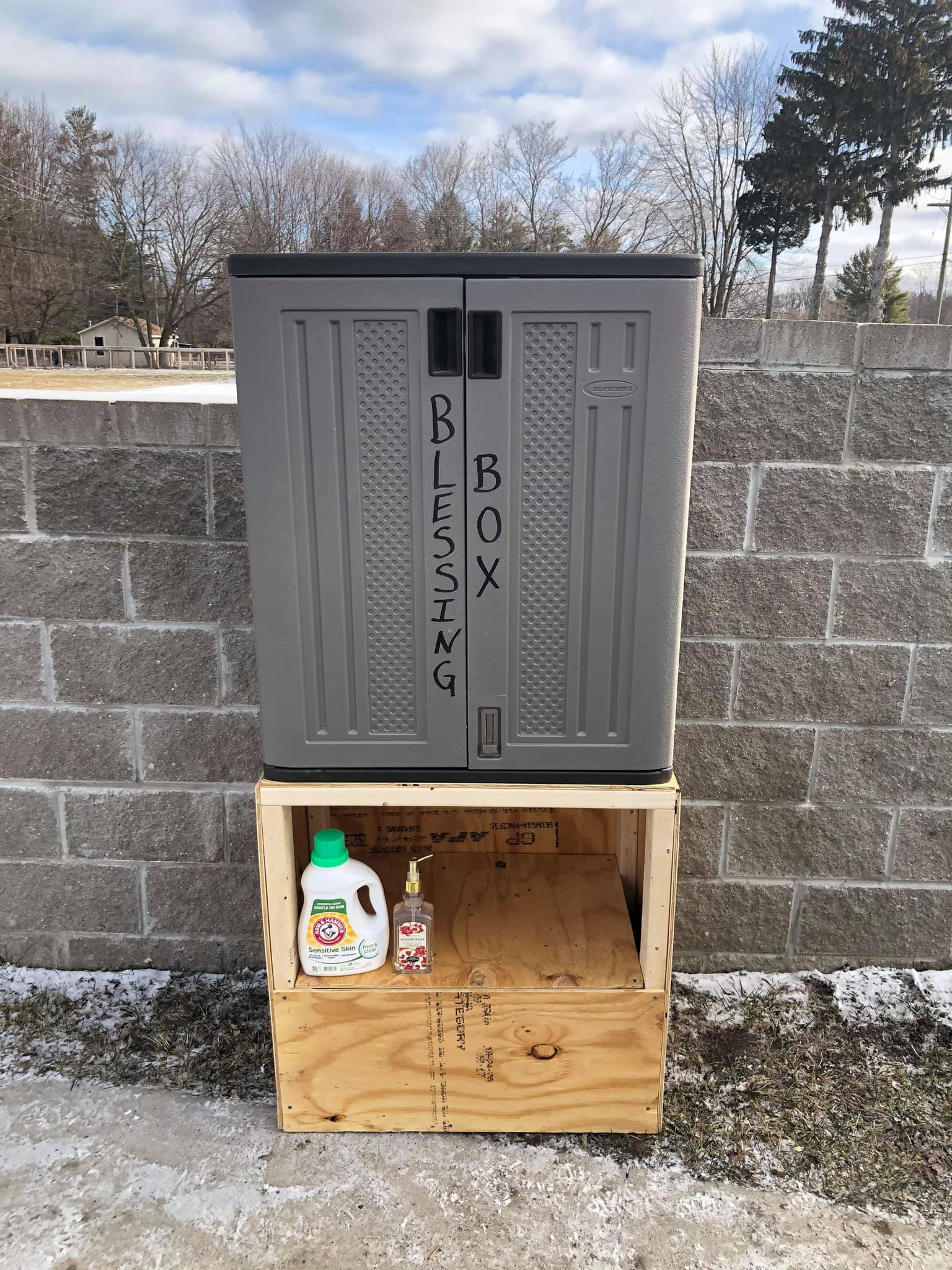 Walker Blessing Box Photo 1