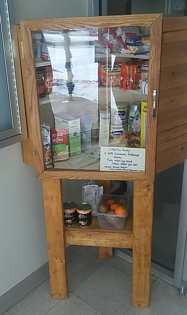 Friends of the Library Little Free Pantry 2 Photo 1