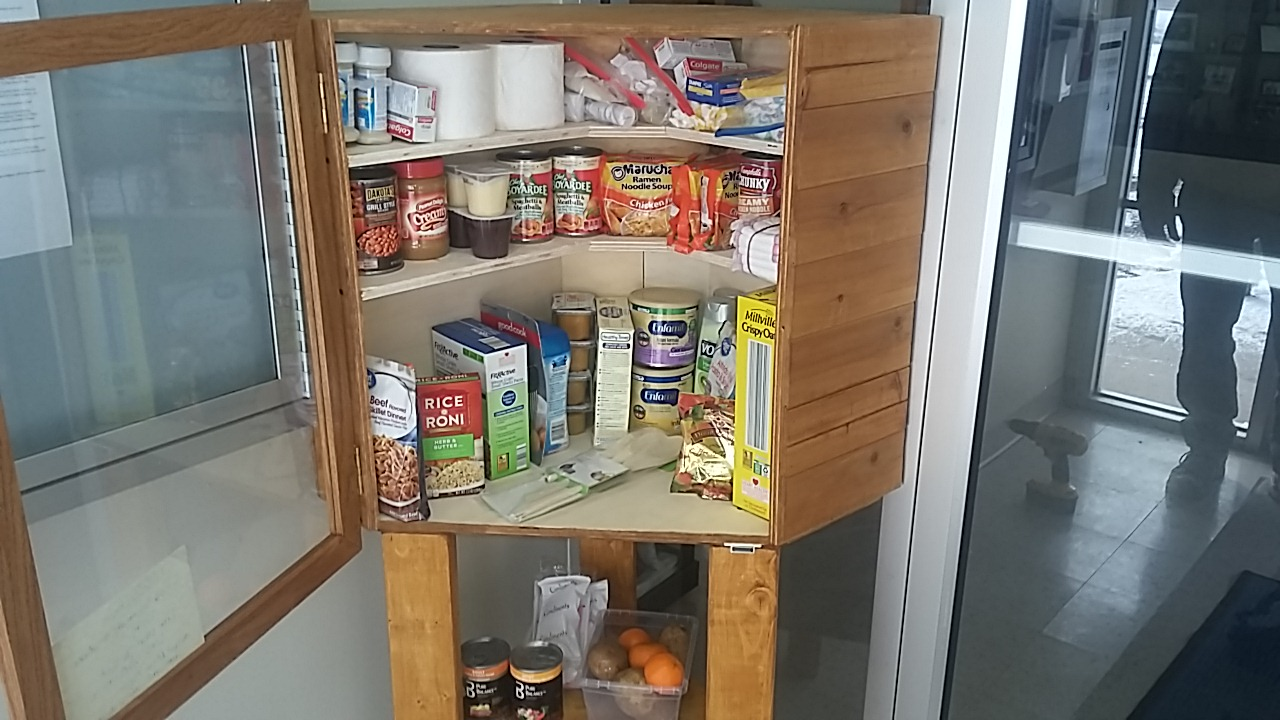 Friends of the Library Little Free Pantry 2 Photo 2