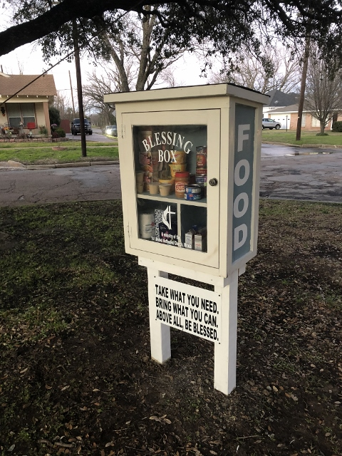 Blessing Box-Little Free Pantry Mexia Photo 1