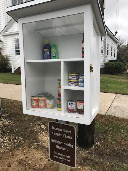 Tuckahoe UMC Little Free Pantry Photo 1