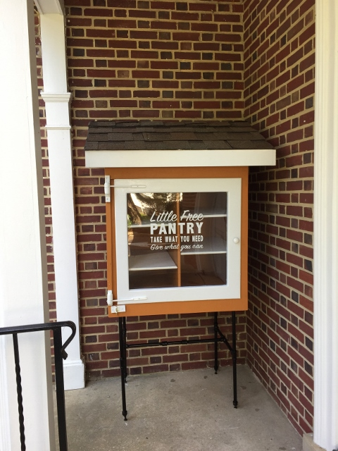United Methodist Church Red Bank Little Free Pantry Photo 2