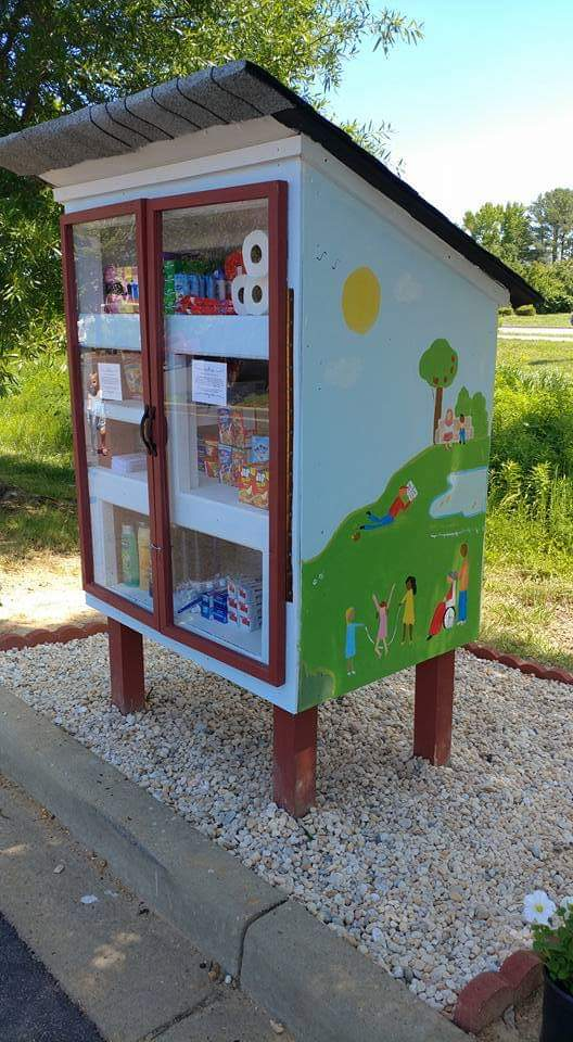 Little Free Pantry at Lexington Park Library Photo 1