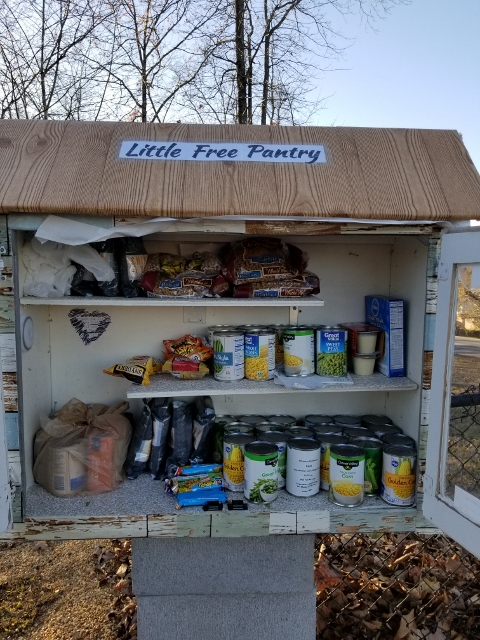 Little Free Pantry in Sherwood AR #1 Photo 1
