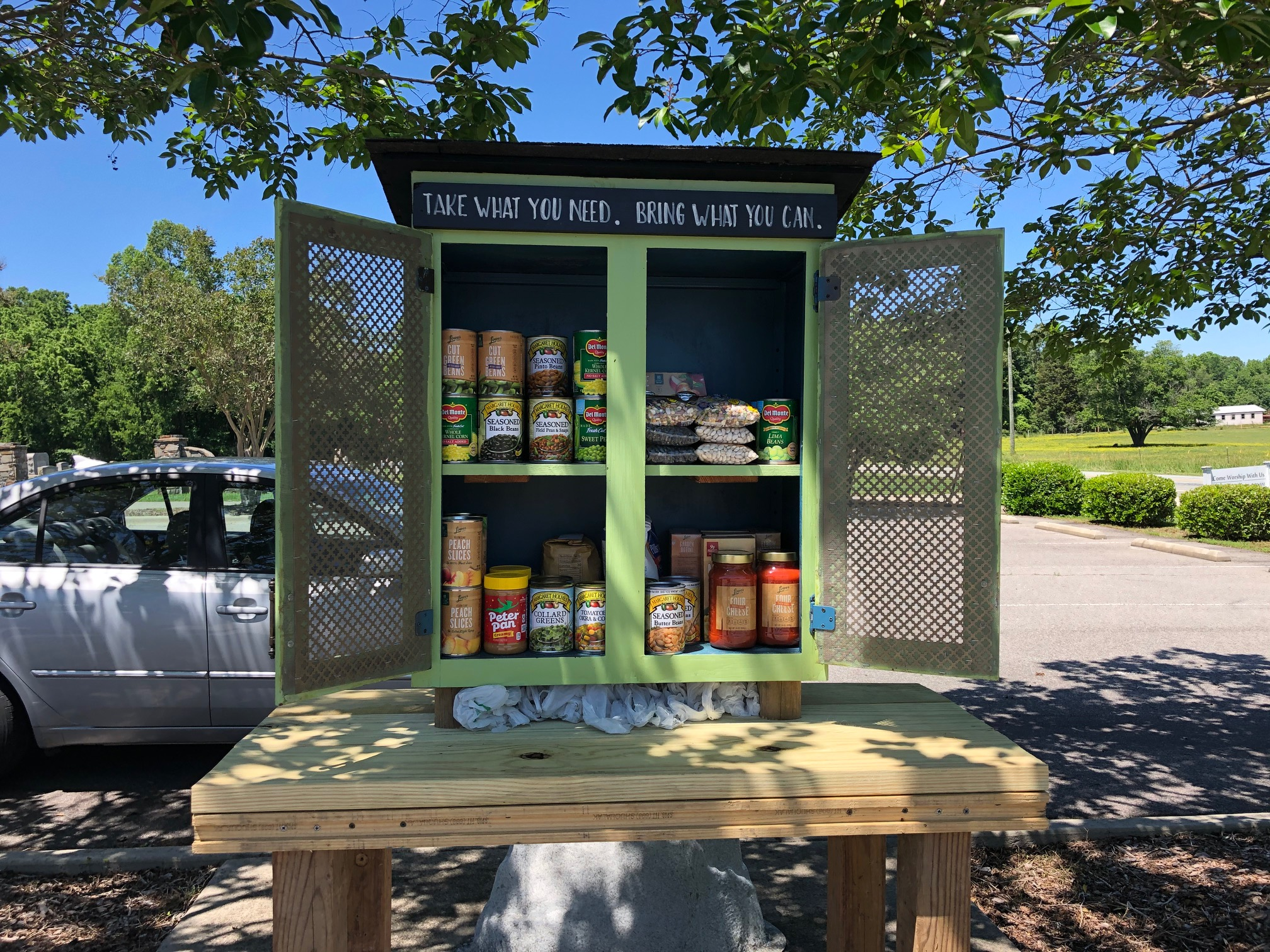 Cedar Grove UMC Little Free Pantry Photo 1