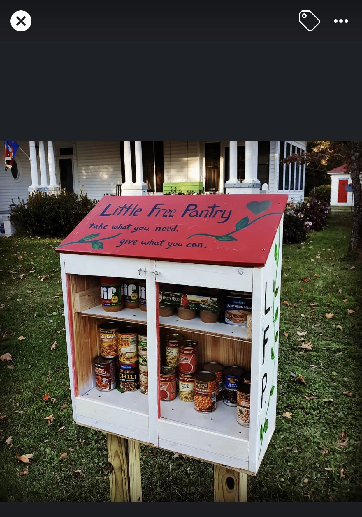 WRAP Little Free Pantry by John and Lexie Photo 1
